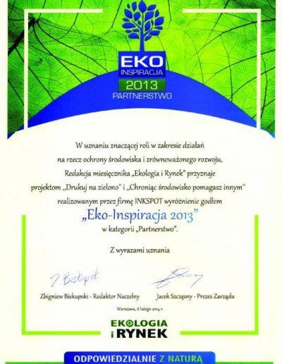Eko Insporacja 2013